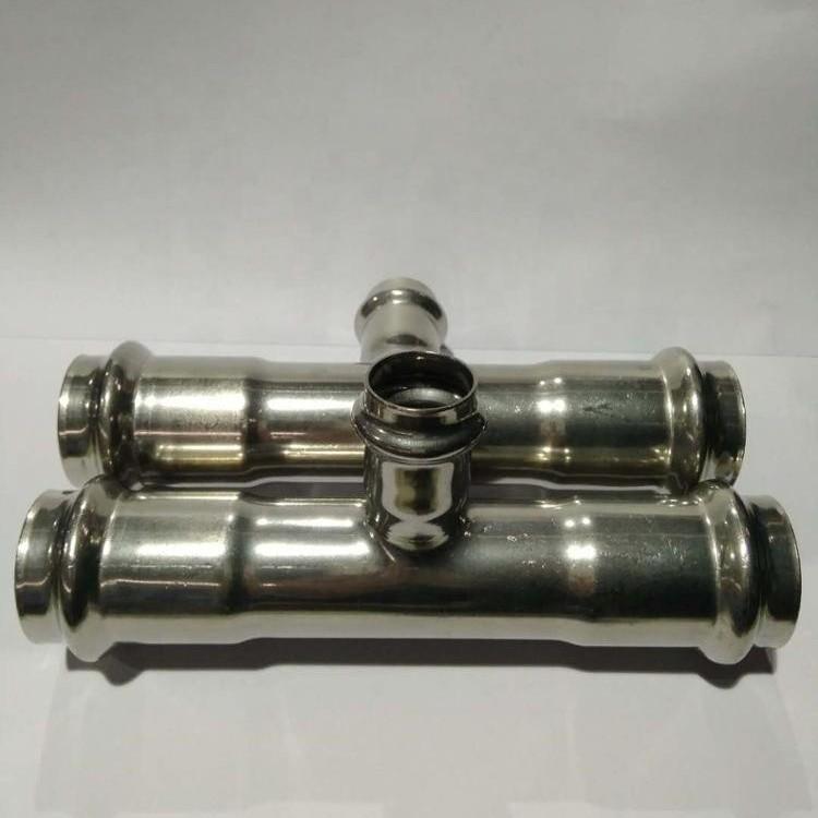 double ferrule tube fitting Viega press fittings