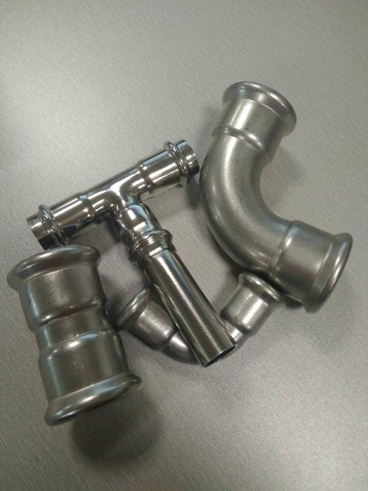 tube or pipe end cap Stainless steel fittings 304
