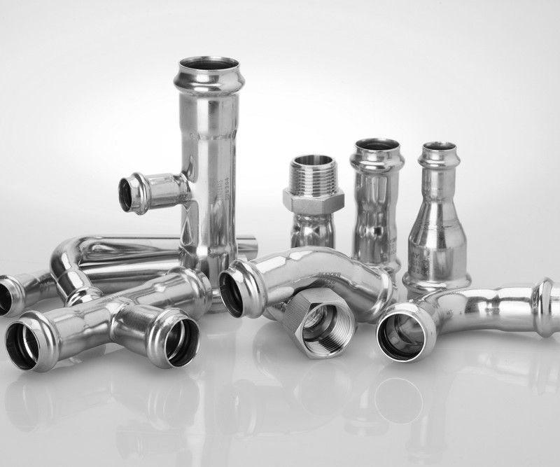 compression tees and elbows Stainless Press Fitting 316L