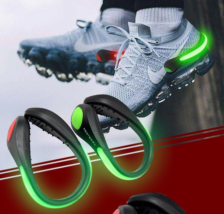 Fashion Safety Interesting led Light-up Jogging Shoe clip
