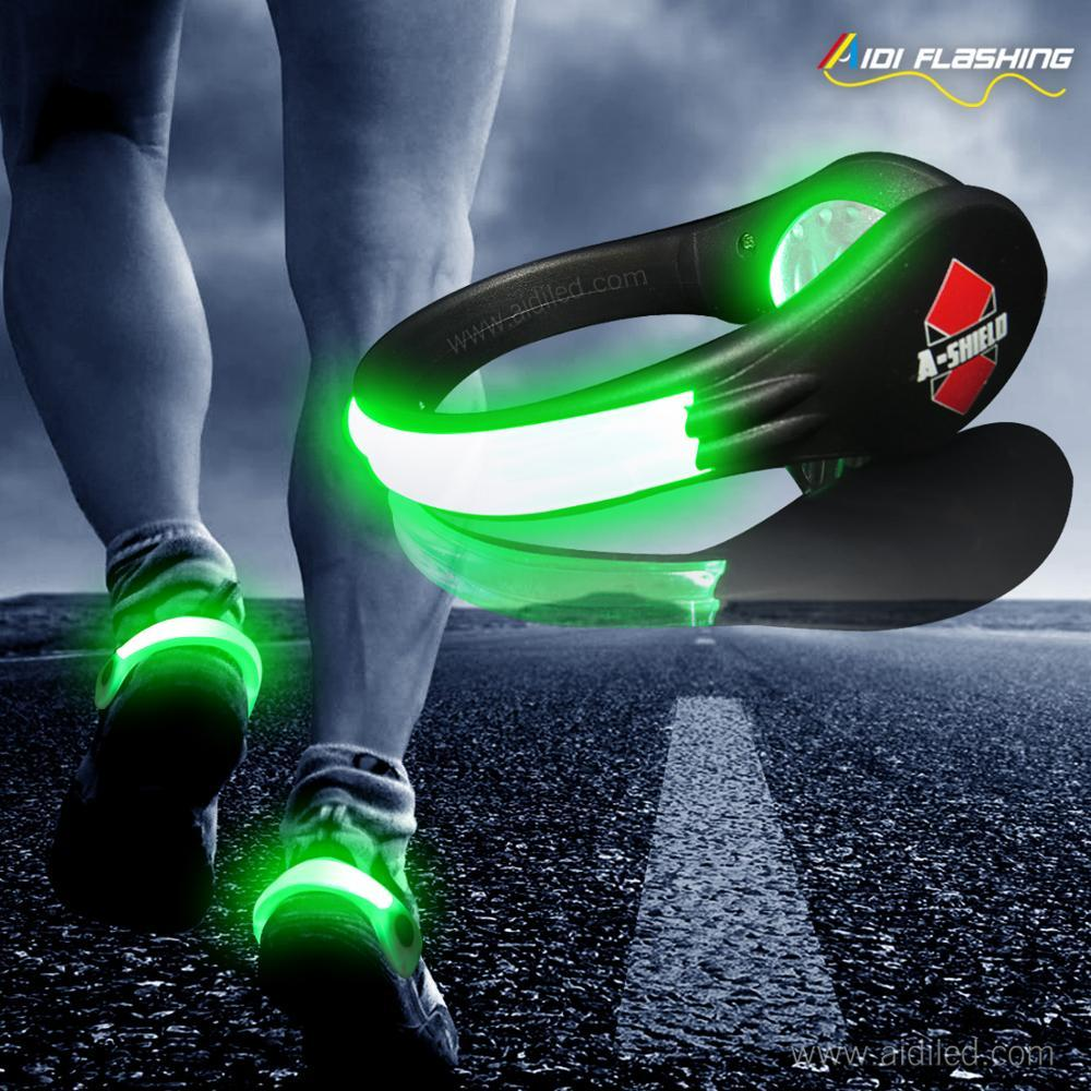 Night Run Led Shoe Clip Big Size SafeLight Jogging Running WalkingLed Shoe Light for Runner