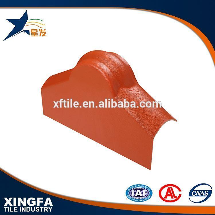 Fire resistance end cap of main ridge tile