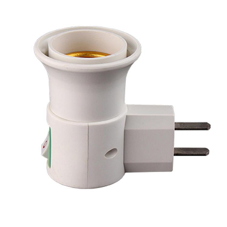 Italy CE ROHS B22 with vertical European Plug Light Bulb Lamp electrical plug socket Base Holder Adapter Converter