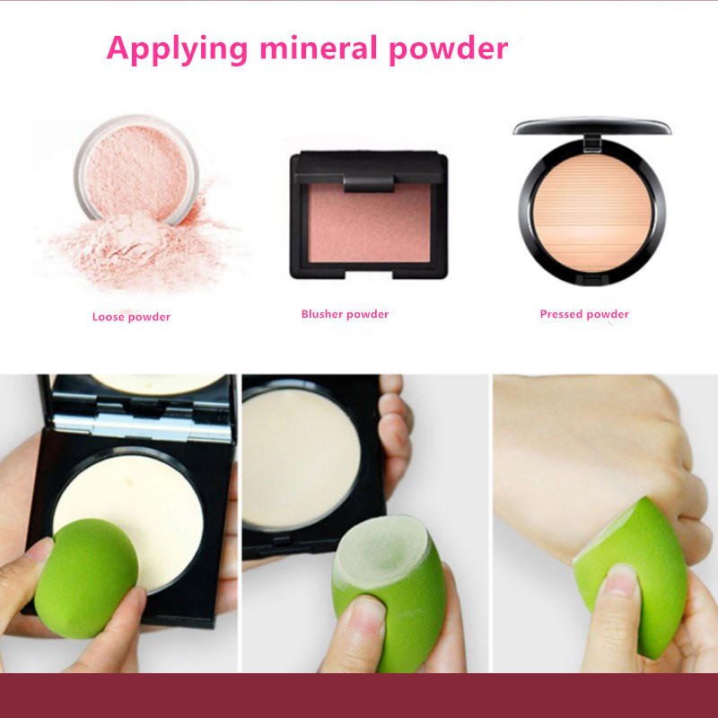 Reusable Storage sponge puff makeup remover makeup blender sponge