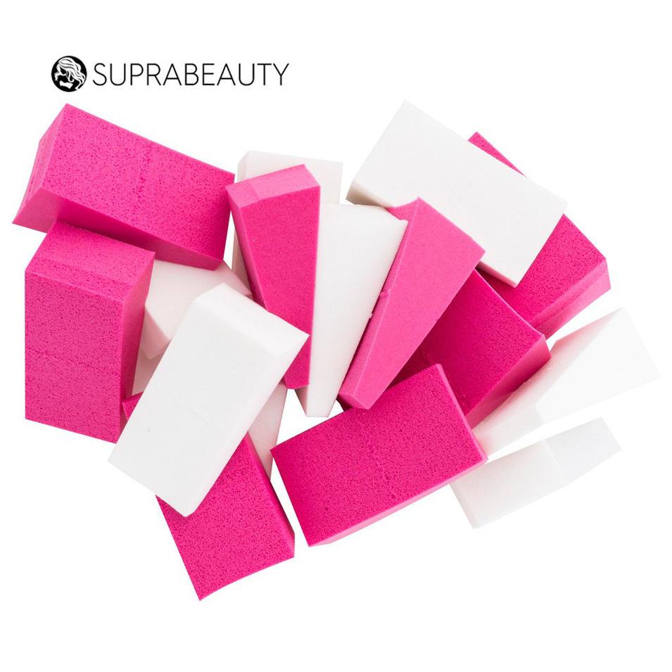 24pcs customized color cosmetic sponge bulk disposable makeup wedges sponge