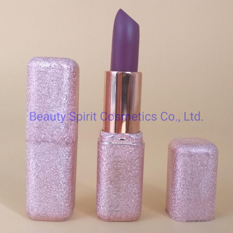 OEM Customized Glitter Long Lasting Lipgloss Cosmetics Makeup Matte Lipstick