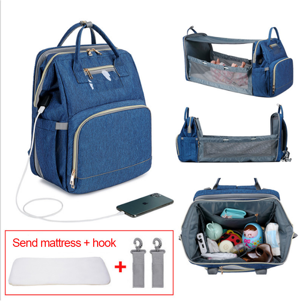 Wholesale Price Large Capacity Portable Diaper Changing Station Baby Mummy Bag Backpack