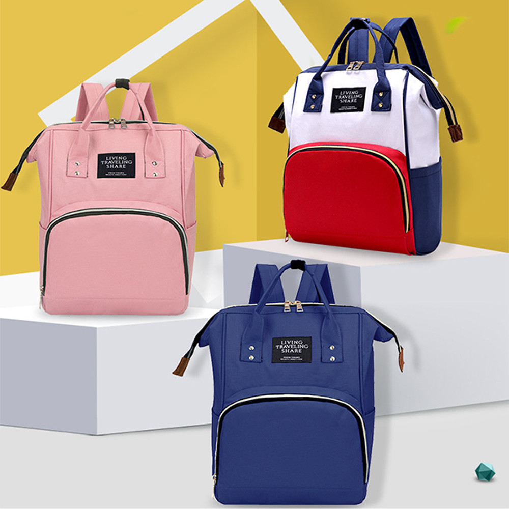 NEWEST Private Label OEM Factory Colorful Design Maternity Mummy Bags Tote Handbag, Shoulder Backpack For Mom Baby Care