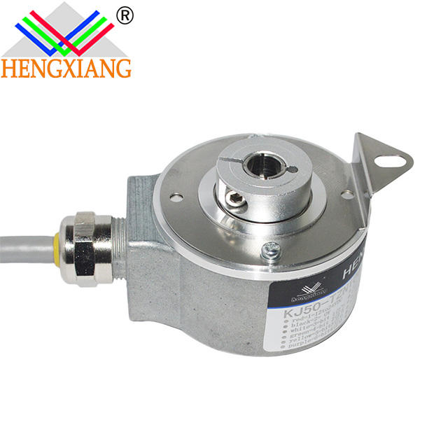 hollow shaft absolute encoder 10mm straight hole shaftabsolute encoder gray code single turn 8 bit,256ppr,NPN