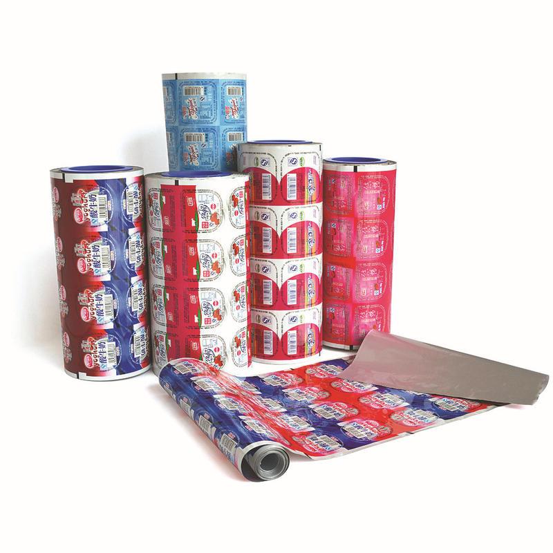 PET CPP Plastic Cup Lid Sealing Film