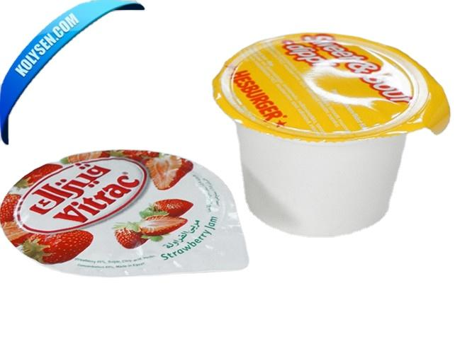 plastic lidding film for coffee cup seal