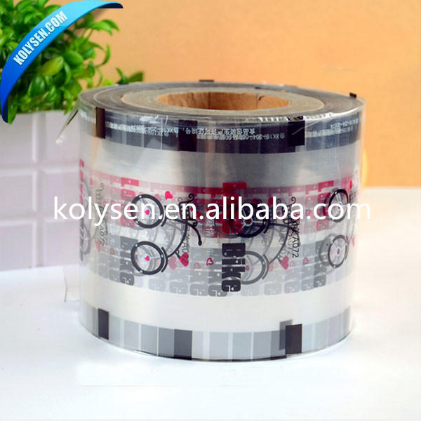 Peelable Lidding/cover Film for bubble cup sealing