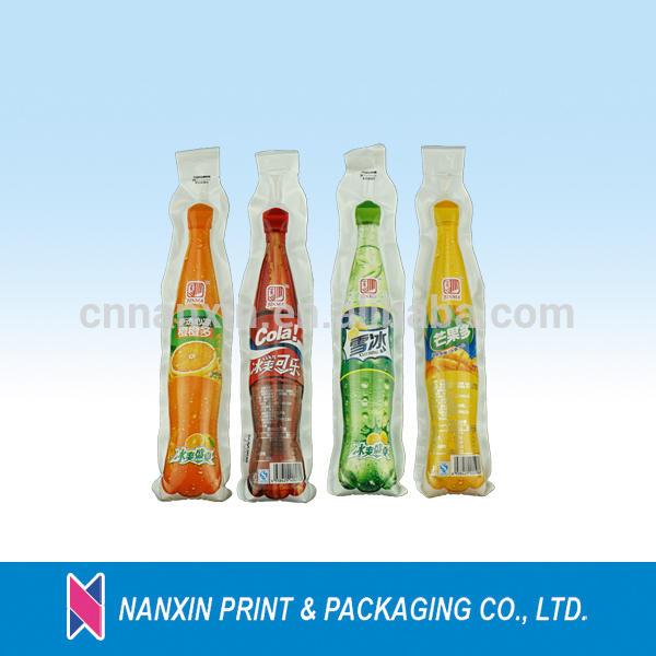 cheapest bottle shape disposable plastic water pouch