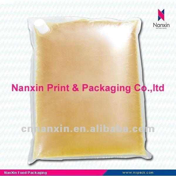 oil bag of cooking oil palm oil liquid packaging