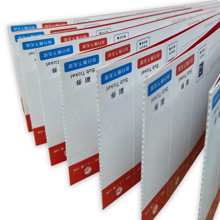 Custom Variable Data Promotional Rfid Smart Card Printable Rfid Paper Ticket