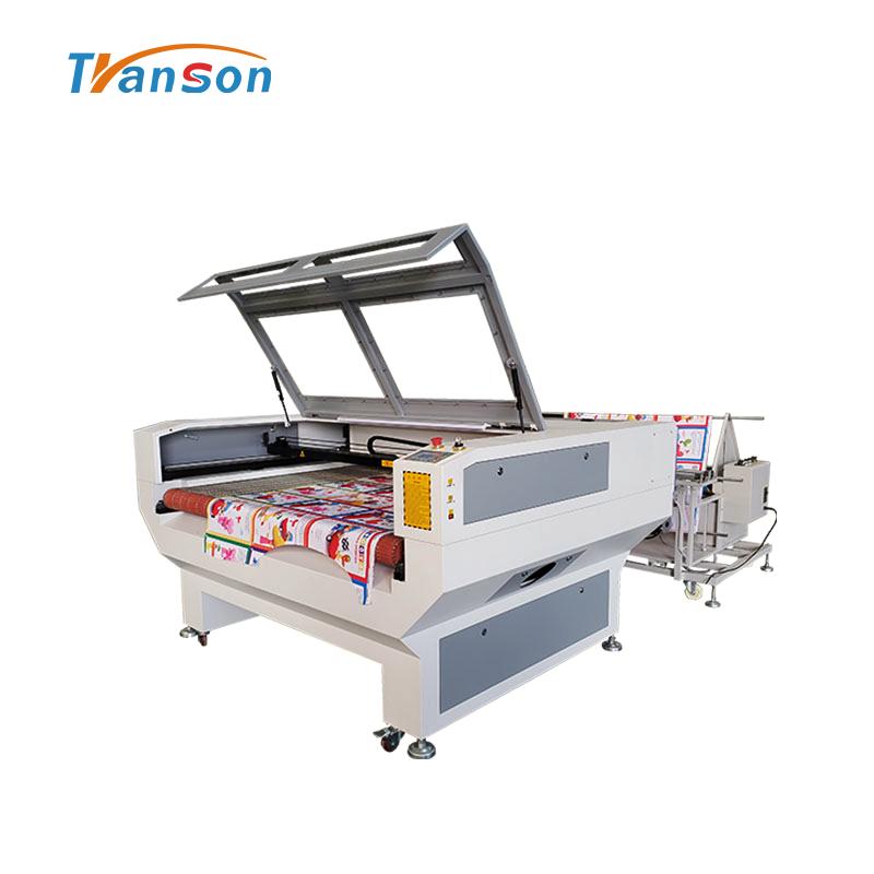 1610 W2 Auto Feed Fabric Laser Cutting Machine