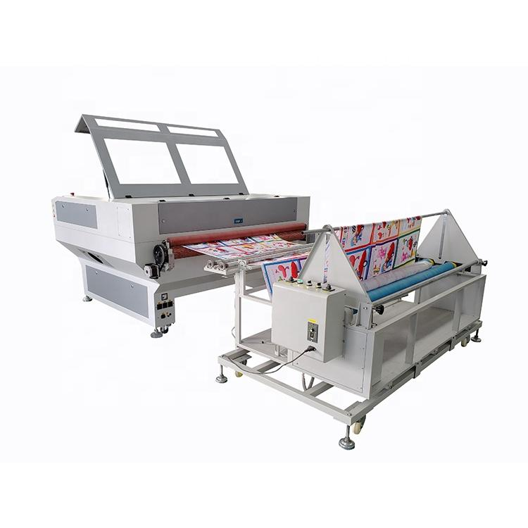 Easy To Operate Automatic Feeding Textiles Shirt Fabric Laser Fabric Cutting Machine