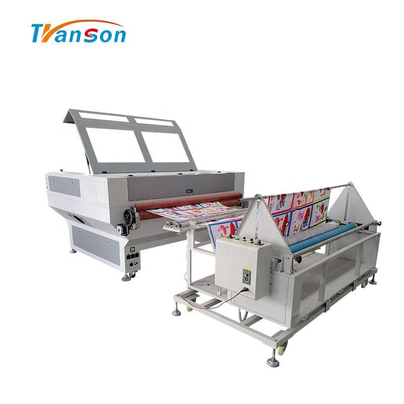 Auto Feed Fabric Laser Cutting Machine 1610