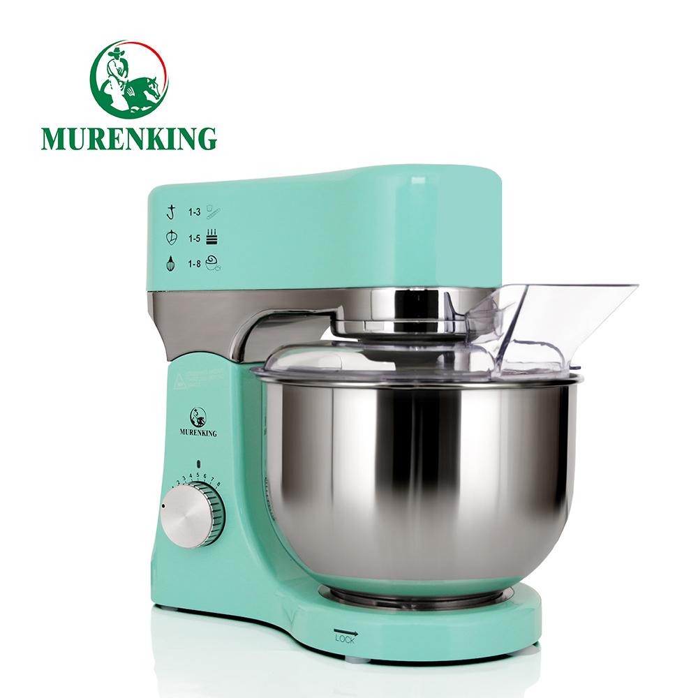 Home small appliances kitchen machine cake baking stand food mixer high-end 5 Quart Title head die-cast aluminium housing 1200W