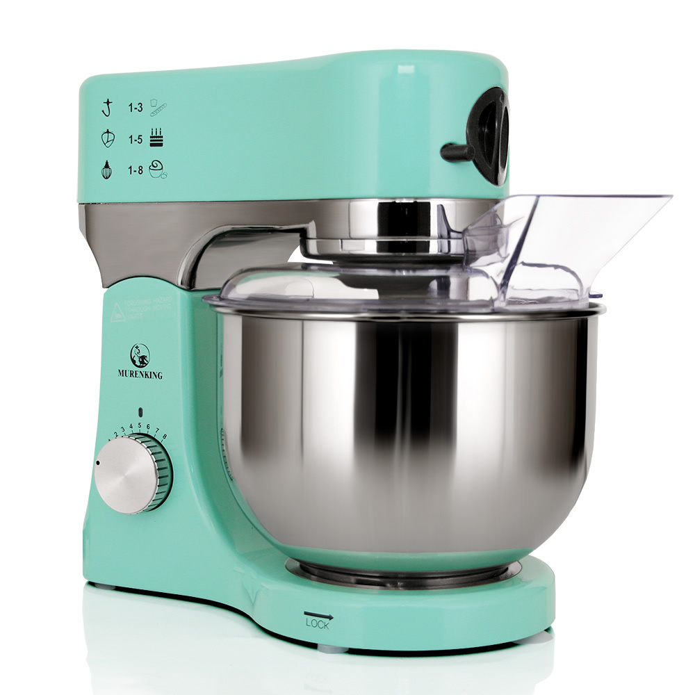Aluminum die cast house Stand Mixer with powerful 1200W motor