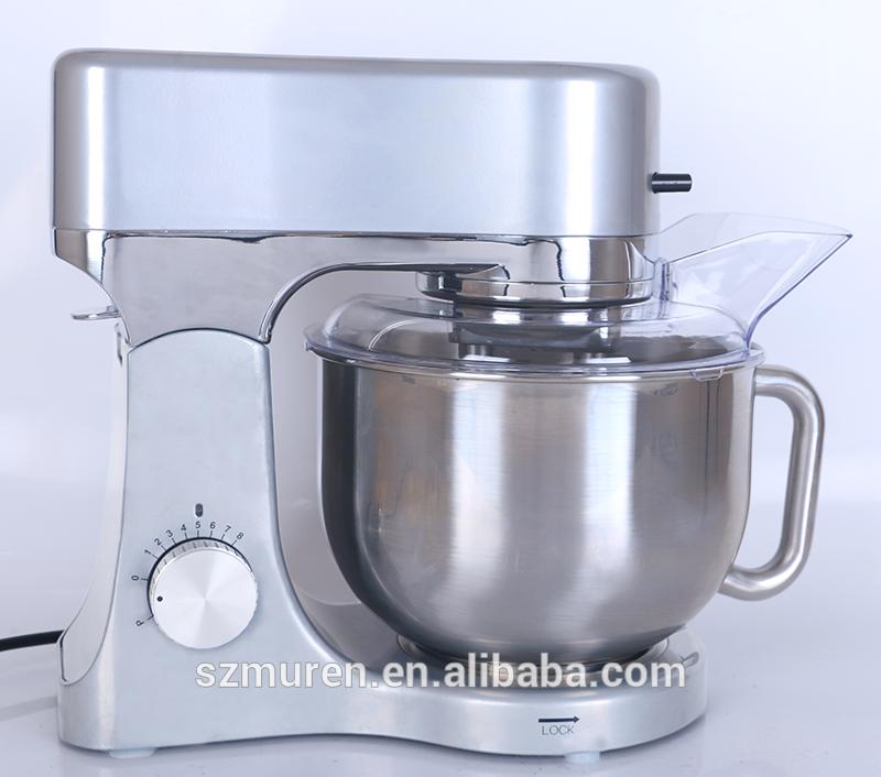 1200W powerful dough kneading machine with 5L rotating bowl
