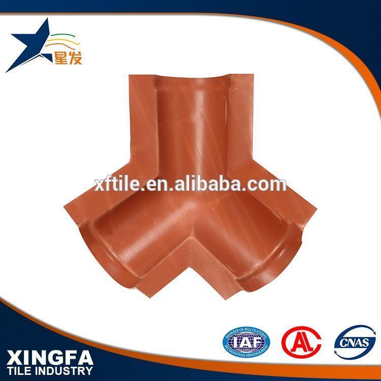 Fire resistance plastic roof tile ridge tile