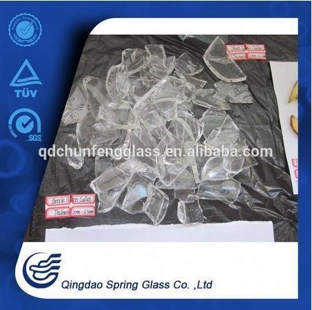 Super White Transparent Waste Bottle Glass Cullets