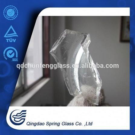 White Clear Bottle Glass Cullets