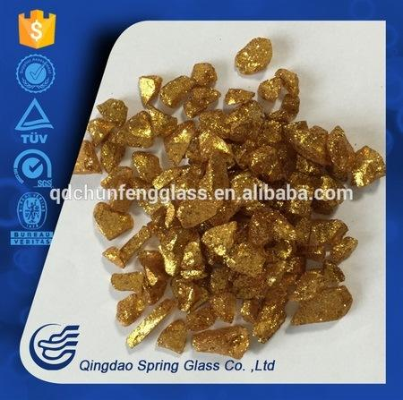 9-12 mm Decorative Glass Granule for Fireplace