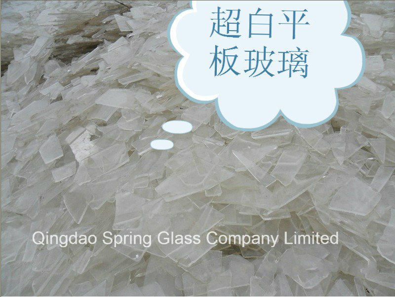 Super White Clear Photovoltaic Glass Cullets (GC127)