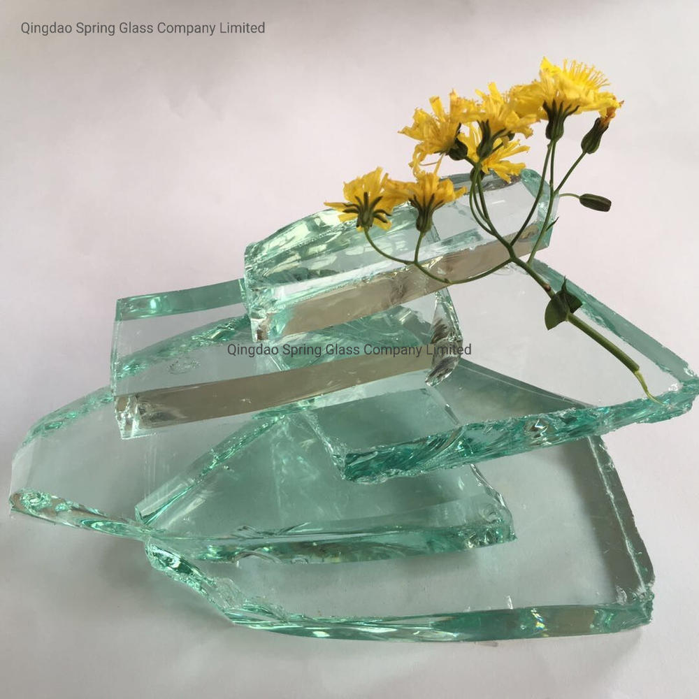 Float Glass Material - White Clear Glass Cullets