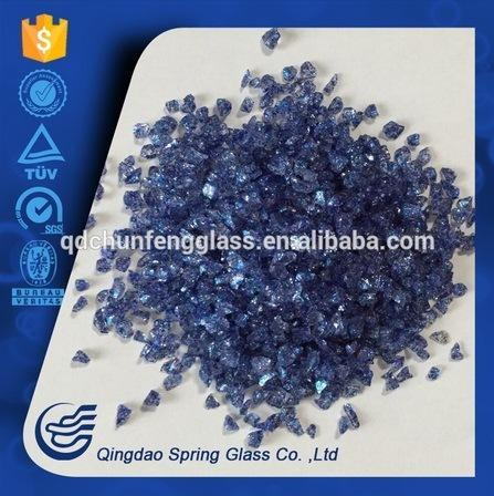 Fine Price Clear Crushed Glass for Garden Decoration