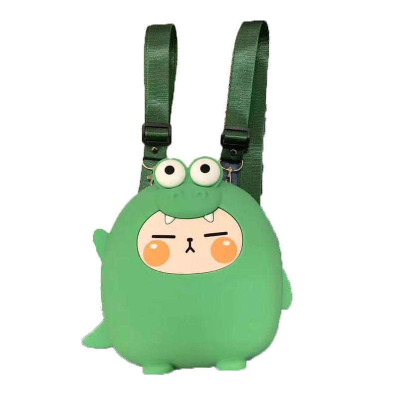 mochilas Mini Backpack Kids Soft Silicone Shoulder Bag For Children Girls Boys Multi-Function Small pack Female Ladies School Backpack