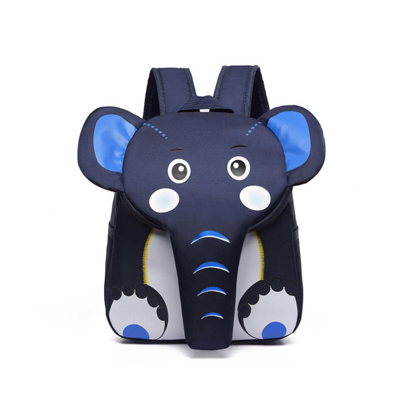 mochilas Elephant School Backpack for Children Cute 3D Animal Designer Kids School Bags Boys Girls Schoolbag plecak szkolny