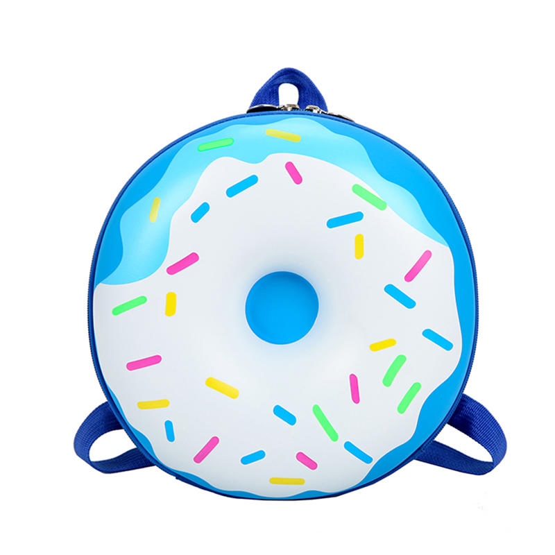 mochilas Lovely Cute New Fashion Donut Rainbow Kids Kindergarten School Book Bag Casual Backpack Vintage Bags for Children Kids Birthday