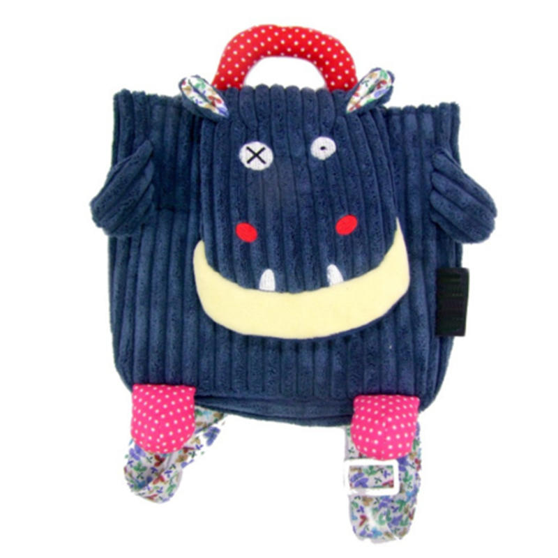 mochilas Cute Cartoon Baby Toy School Bag Animal Shape 1-3 Corduroy Toddler Backpacks Stress Reliever Design Mini Cartoon Children bag