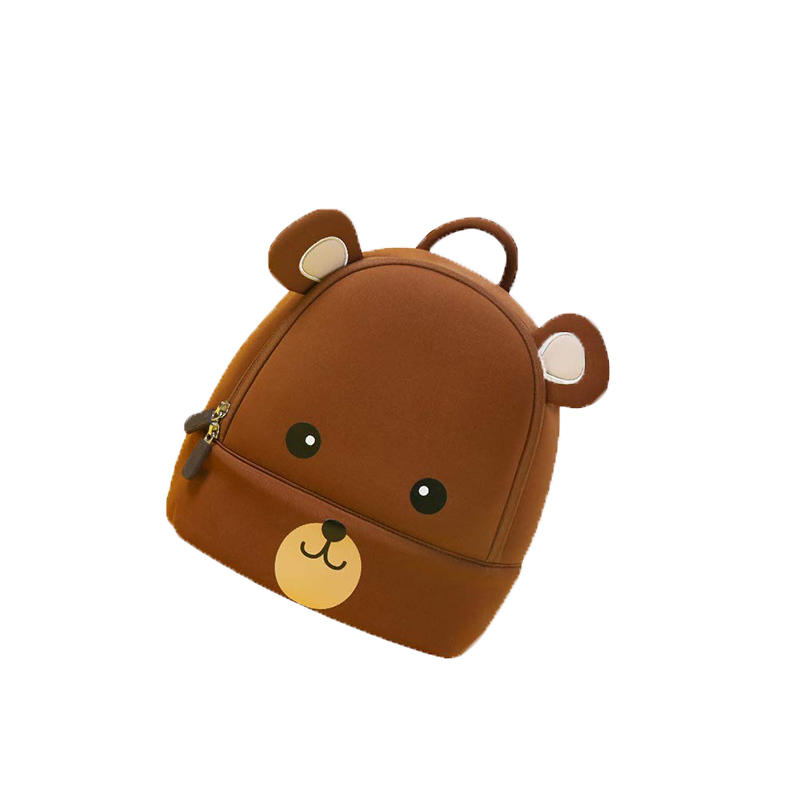 mochilas toddler backpack 3D Animal Cute backpack Girl Boys Backpack Toddler Kids Neoprene School Bags Kindergarten Cartoon Bag 2020 New