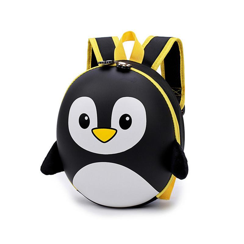 mochilas Children's Backpack 3D Mochila Escolar Menino New EVA Penguin Schoolbag Hard Shell Backpack Cartoon Lovely Mini Kids Cute Bags