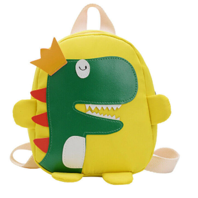 mochilas 2020 New Children Backpacks 3D cartoon dinosaur Girl Boys School Bags Toddler Kids Neoprene Schoolbag Kindergarten Cartoon Pouch