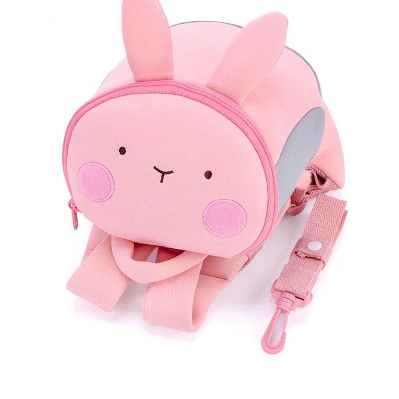 mochilas Korean Style Mini Kindergarten School Backpack for Girls Panda Kids Cute Fashion Book bag PU Leather Backpack