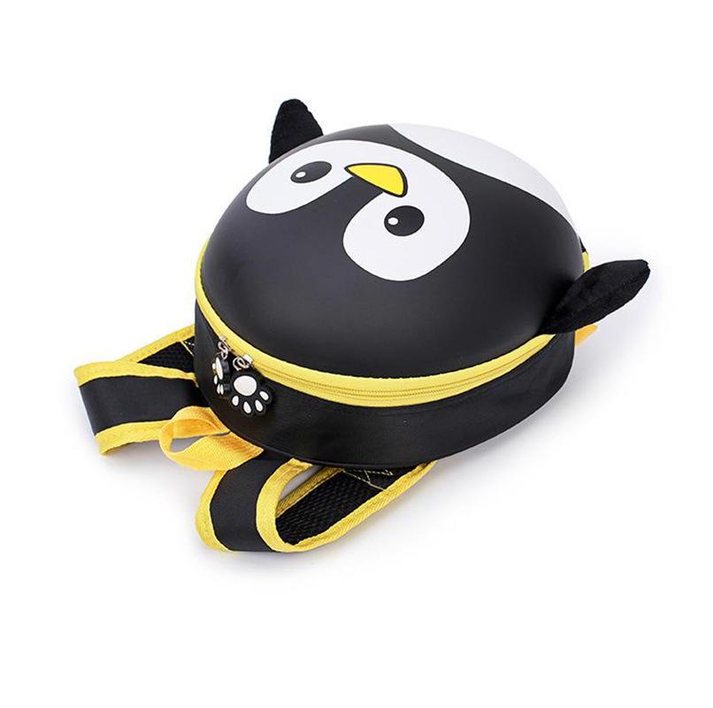 mochilas New Penguin Orthopedic Schoolbag Children Backpack Hard Shell Backpack Kids Cartoon Toddler Children School Backpack for boys