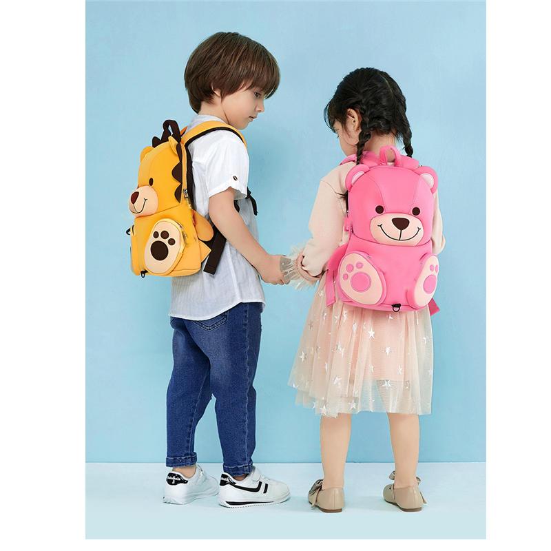 mochilas toddler backpack school bags 3D Cartoon school backpack for girls boys waterproof travel mini backpack animal kids Bag book bag