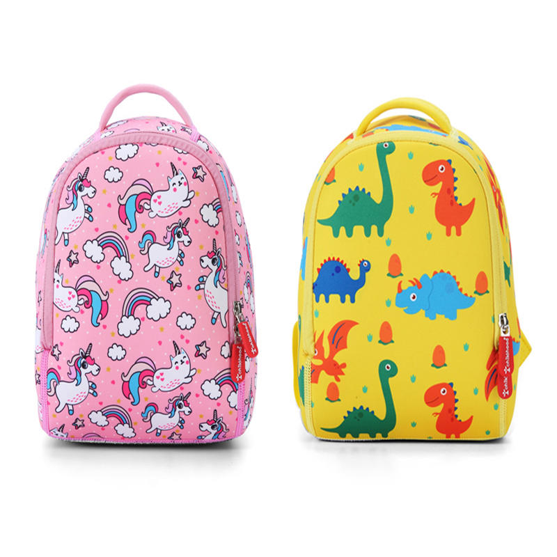 mochilas New Dinosaur Kids School Bags For Boys Kindergarten School Backpacks for Girls Creative Animals Kids Bag Mochila Infantil