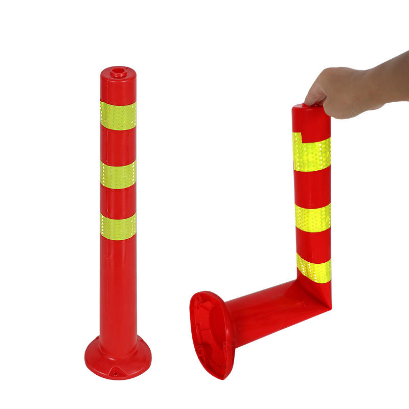 ALLTOP Highly Visible Soft Elastic PE Flexible delineator Warning Post