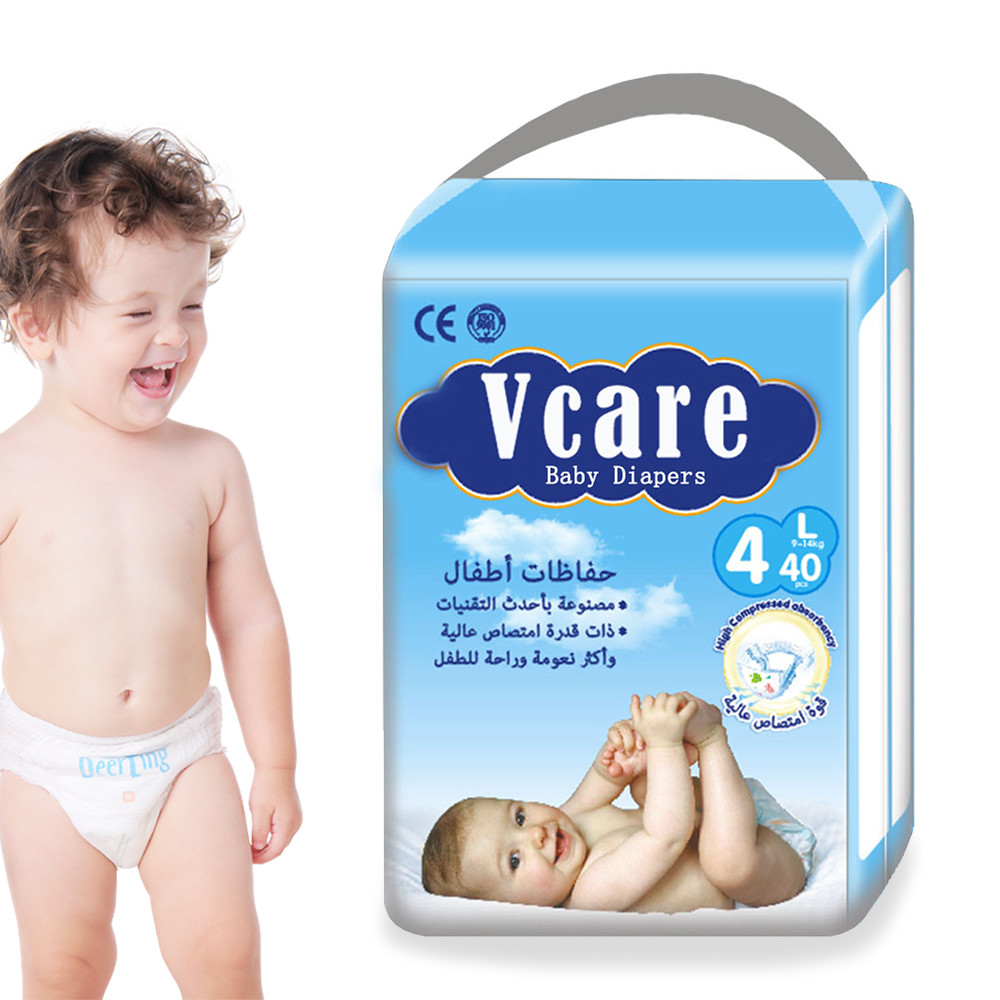 Manufactory Disposable Baby Cotton Training Diaper Pants