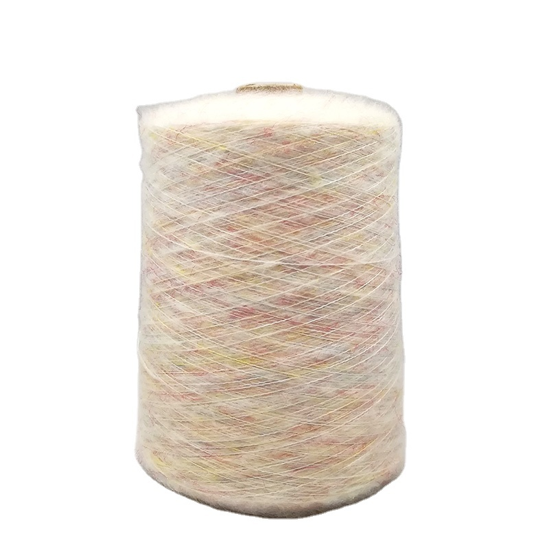 High quality mohair wool blended fancy yarn used for sweater from italy