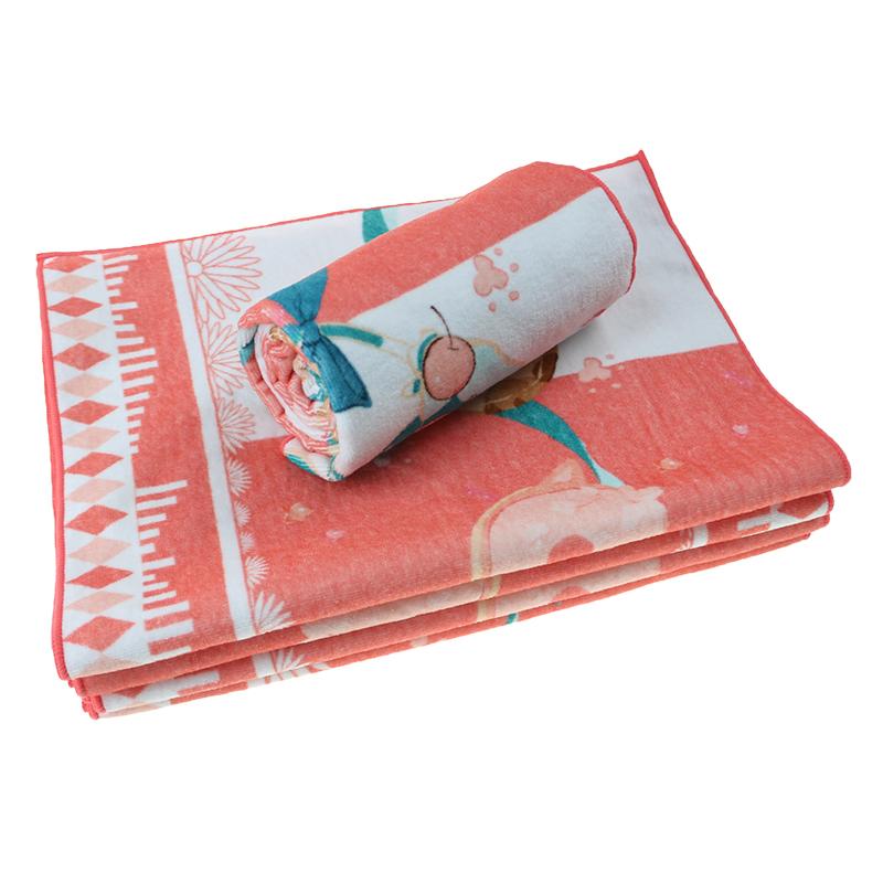 100% Cotton Sports White Cheap Custom Face Towel
