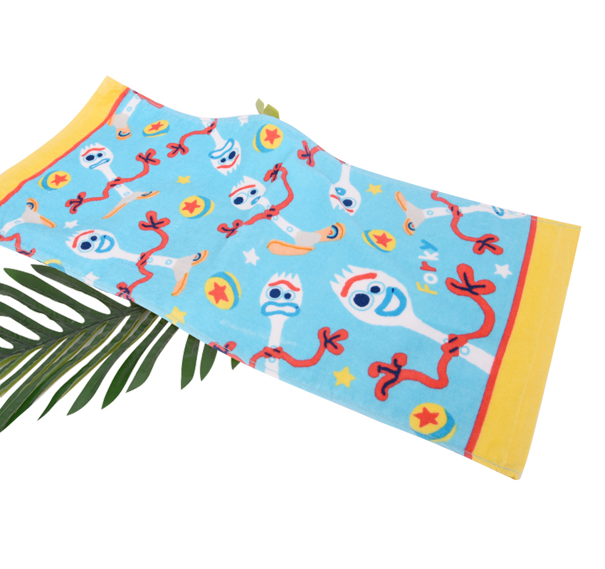 100% Cotton 2020 Top Selling multiple pattern Customized Printed face Towel Soft Quick-drying