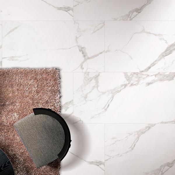 Overland Greenland Calacatta Gold Porcelain Floor Tiles Bathroom Tiles & Marble Porcelato