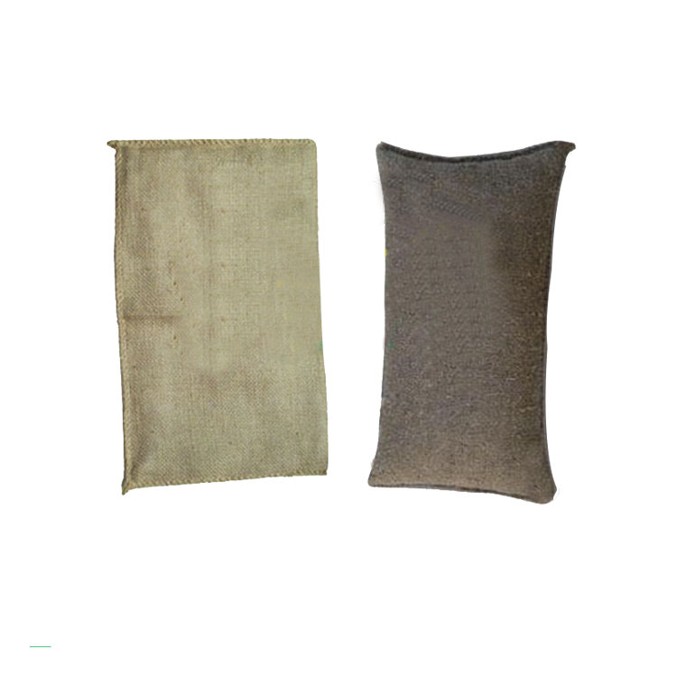 Eco-Friendly Made In China Inflatable Instant Jute Sand Bag for Flood